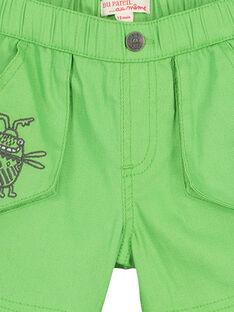 Grüne Bermudas für Babys Jungen FUYEBER1 / 19SG10M1BER603