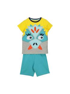Kurzer Pyjama aus Baumwolle für Jungen FEGOPYCZOR / 19SH12H2PYJF519
