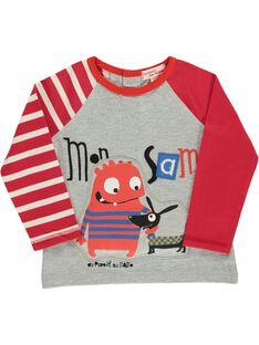 Baby boys' fancy T-shirt DUROUTEE1 / 18WG1021TMLJ908