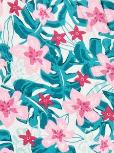 Jogginghose, Hawaii-Blumen-Print LAJOBAJOG2 / 21S90142D2A001