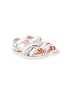Weiße Sandalen für Mädchen LFSANDCLAIRE / 21KK355KD0E000