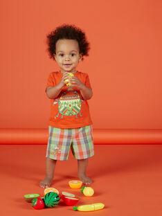 Karierte Bermudas für Babys Jungen FUYEBER3 / 19SG10M3BER099