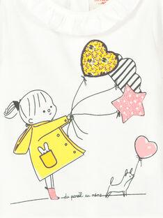 Langärmeliges Baby-T-Shirt für Mädchen FILITEE / 19SG0921TML001