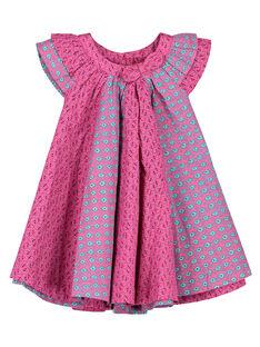 Babykleid aus Popeline für Mädchen FITUROB4 / 19SG09F4ROB712
