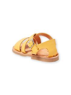Baby Mädchen gelbe Sandalen LBFSANDSUN / 21KK3758D0E010