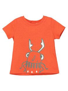 Kurzärmeliges T-Shirt für Babys Jungen FUJOTI9 / 19SG10G4TMC400