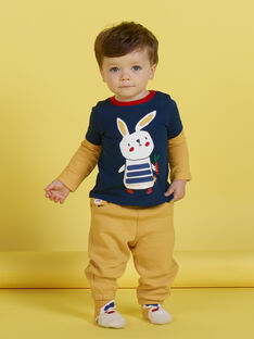 Gelbe Hose für Baby-Jungen MUMIXPAN2 / 21WG10J1PAN117