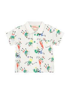Fantasie-Polohemd für Babys Jungen FUCAPOL / 19SG10D1POL099