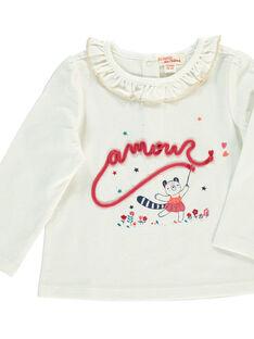Baby girls' long-sleeved T-shirt DITRITEE / 18WG09D1TML001