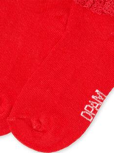 Layette-Socken für Mädchen LYIJOSOQDEN4 / 21SI0945SOQF505