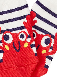 Naturweiße Socken JYUCEACHO1 / 20SI10N1SOQ001