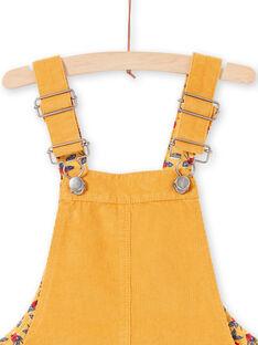Kind Mädchen Senf Kleid MAMIXROB4 / 21W901J4ROBB106