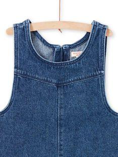 Denim-Kleid für Mädchen MAMIXROB1 / 21W901J2ROBP269