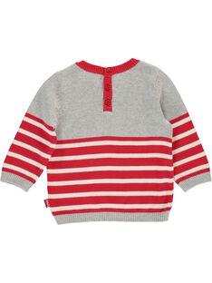 Baby boys' monster sweater DUROUPUL / 18WG1021PUL099