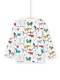 Baby Boy's White Reversible T-Shirt MOMIXTEE1 / 21W902J1TML810