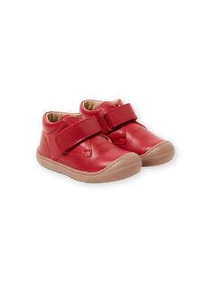 Rote Baby-Jungen-Stiefel GBGBOTIFLER / 19WK38I3D0F050