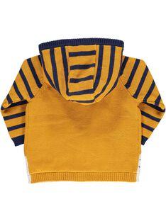 Baby boys' zipped hooded jacket DUNAUGIL / 18WG10G1GIL104