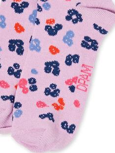 Socken Kind Mädchen LYABLECHO / 21SI01J1SOQ320