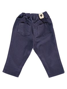 Baby girls' twill trousers CIJOPAN3A / 18SG09R3PAN705