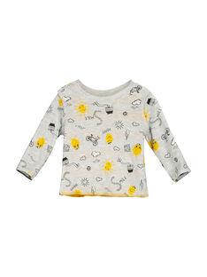 Wendbares Baby-T-Shirt für Jungen FULITEE3 / 19SG1023TML099