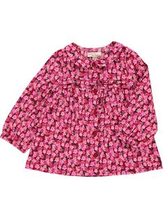 Baby girls' Peter Pan collar blouse DIROUCHEM / 18WG0921CHE099
