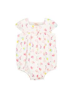 Baby-Strampelanzug für Mädchen FICUBAR / 19SG09N1BAR000