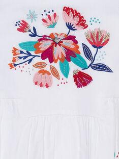 Ärmelloses Kleid mit Stickerei und Blumendruck JAMAROB2 / 20S901P4ROB000