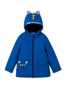 Regenmantel mit blauem Krokodil für Jungen MOGROIMP2 / 21W90252D59217