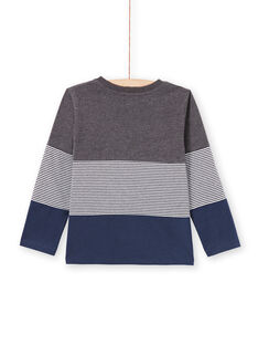 Baby Boy's Grey & Navy T-Shirt MOJOTIDEC3 / 21W90222TML944