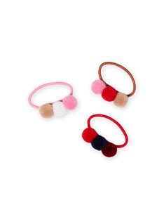 Sortierte Gummibänder für Mädchen MYAJOELA7 / 21WI01S3ELA420