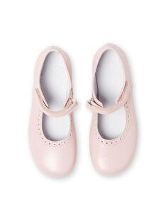 Baby Mädchen blass rosa Sandalen LFBABSONIAP / 21KK3534D13301