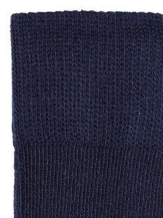 Baby Mädchen marineblaue Strumpfhose LYIHACOL / 21SI09X1COL070