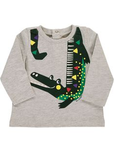 Baby boys' long-sleeved T-shirt DUVIOTEE3 / 18WG10H3TMLJ908