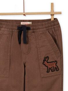 Multitaschen-Hose mit Militärdruck für Jungen MOSAUPAN / 21W902P1PANI807
