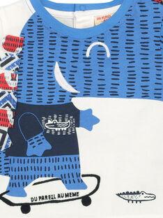 Kurzärmeliges T-Shirt für Babys Jungen FUTOTI2 / 19SG10L2TMC000