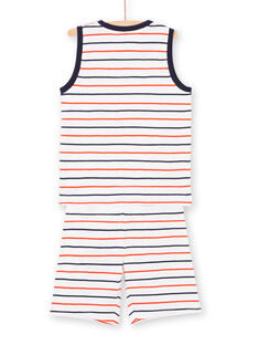 Gestreifter Pyjama für Jungen LEGOPYCSKA / 21SH12C9PYJ000
