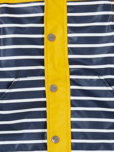 Golden yellow RAIN COAT LUGROIMP / 21SG10R1IMP106