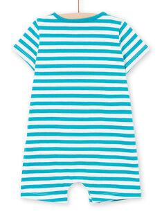 Baby Boy Kurzer Jersey-Overall LUPLACOM1 / 21SG10T1CBL001