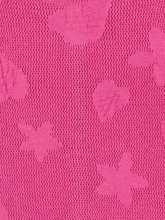 Langarm-Strickjacke, durchbrochener Fancy-Strick mit Blatt- und Blumenmotiv LAVICAR / 21S901U1CAR304