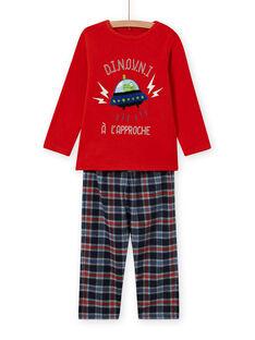 Pyjama-Set für Jungen mit außerirdischem Motiv MEGOPYJSPA / 21WH1284PYJE414