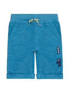 Bermudas aus blauem Molton JOBOBER1 / 20S902H3BER215