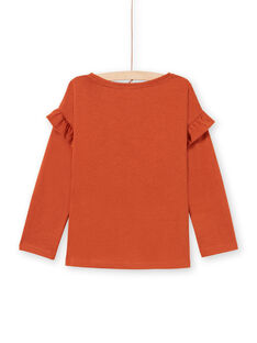 Baby Girl Karamell T-Shirt MACOMTEE3 / 21W901L2TML420