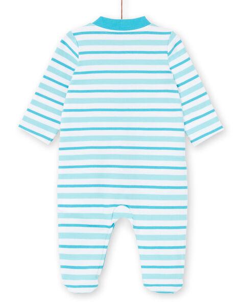 Gestreifter Jungen-Schlafanzug mit Dinosaurier-Design LEGAGRETIR / 21SH1455GRE000