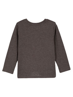 Langarm-T-Shirt Anthrazitgrau meliert GOJOTICHI4 / 19W902L2D32J921