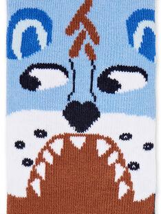 Socken für Kinder und Jungen LYOBLECHO1 / 21SI02J1SOQC208