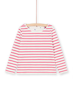 Wende-T-Shirt in Weiß und Blau LANAUTEE1 / 21S901P1TML001