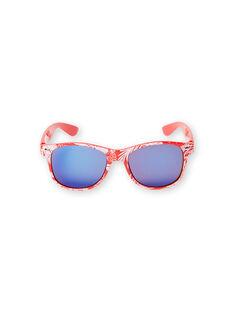 Rote und weiße Sonnenbrille Junge Kind LYOMERLUN / 21SI02D1LUN050