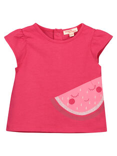 Schickes Baby-T-Shirt für Mädchen FIJOTI6 / 19SG09G1TMC304