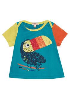 Blaues kurzärmeliges T-Shirt JUMARTI2 / 20SG10P1TMCC242