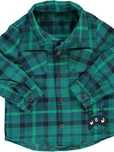 Baby boys' checked shirt DUVECHEM / 18WG1071CHM099
